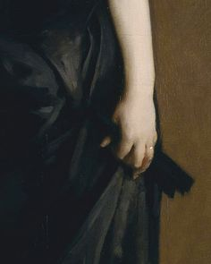 Madame X (detail) by John Singer Sargent (1856-1925). Oil on canvas, 1883-4