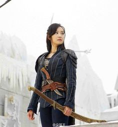 f(x)'s Victoria becomes a warrior princess for upcoming Chinese drama 'Ice Fantasy' | allkpop.com
