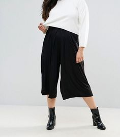 Your Most Stylish Friends Will Soon Be Wearing These Cool Gaucho Pants via @WhoWhatWear
