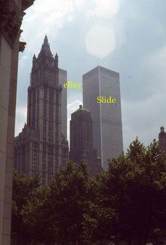 35mm Slide New York World Trade Center 1976 Kodak Ektachrome