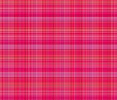 Pink Plaid 1 fabric by gingezel on Spoonflower - custom fabric