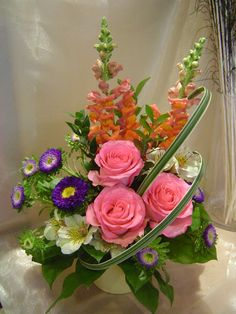A flower arrangement called Lyric