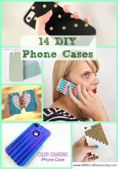14 DIY Phone Cases. How to add photo that you love to make personalized iPhone 6/ 6S case cover http://www.zazzle.com/cuteiphone6cases/iphone+6+cases?ps=128&qs=iphone%206%20cases&dp=252480905934073059&sr=250849706063379605&cg=196639667158713580&pg=2&rf=238478323816001889&tc=diyphonecaseideas