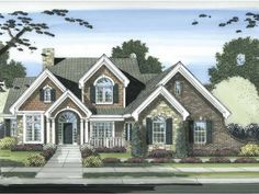 Eplans Cape Cod House Plan - Four Bedroom Cape Cod - 2873 Square Feet and 4 Bedrooms from Eplans - House Plan Code HWEPL67687