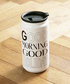 HOLIDAY(ホリデイ)のGOOD MORNING BOTTLE グッドモーニングボトル(グラス/マグカップ/タンブラー)|ホワイト