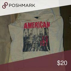 Cute American Eagle hoodie Great shape. Super comfy :) Tops Sweatshirts & Hoodies