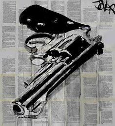 "Saatchi Art Artist Loui Jover; Drawing, ""big shot"" #art"