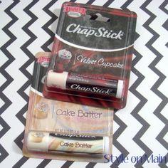 Red Velvet & Cake Batter Chapsticks - Limited Edition!