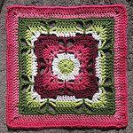 Butterfly Garden Square Free Crochet Pattern