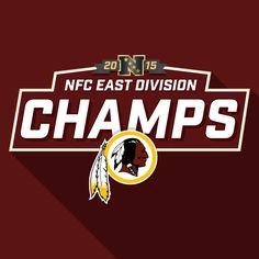 2015 #NFC East Division Champs. #HTTR #Redskins #NFL