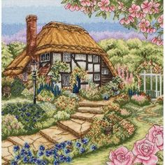 Thrilling Designing Your Own Cross Stitch Embroidery Patterns Ideas. Exhilarating Designing Your Own Cross Stitch Embroidery Patterns Ideas. Cross Stitch House, Cross Stitch Needles, Cross Stitch Kits, Cross Stitch Charts, Cross Stitch Designs, Cross Stitch Patterns, Cross Stitching, Cross Stitch Embroidery, Embroidery Patterns