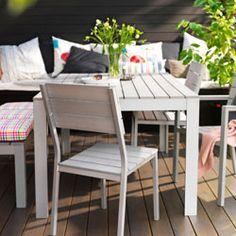 Ver mobiliario de exterior para comer
