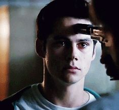 Stiles preparing to die for his friend - look at that face!! Teen Wolf (1) Tumblr