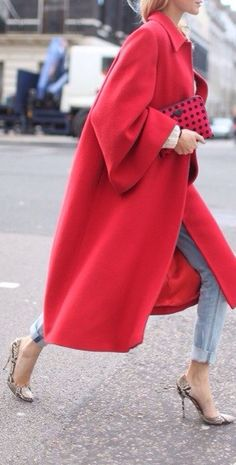 A pop of red
