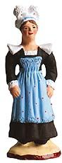 Woman from Pont-Aven (Brittany) - Pont-Aven Santons.  Available at www.mygrowingtraditions.com
