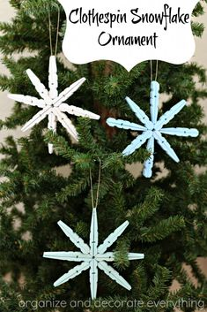 clothespin-snowflake
