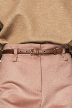 Rose pink & beige | IVY & LIV - Au Naturel | Chloé Fall 2010.