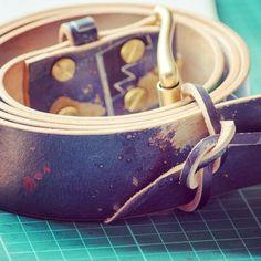JOE LEATHER 新的皮带做好了手工图案每一条都不重复hand made leather belt #handmade  #leathergoods #leathercraft #belt
