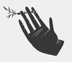 'Hand' by Brandon Land