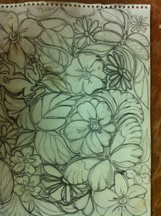 The sketch that began the design...