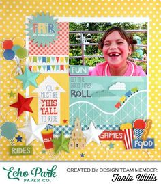"""""""A Fair to Remember"""" layout by Tania Willis for #EchoParkPaper"""