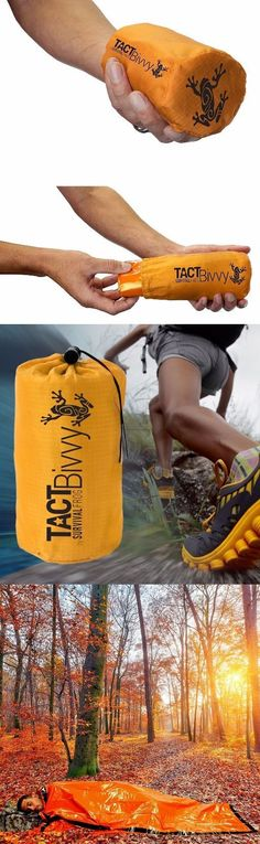 Stay Alive In The TACT Bivvy Emergency Sleeping Bag @thistookmymoney