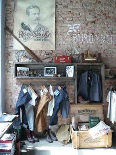 denim merchandising | fixtures & merchandising / denim display