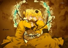 Kagamine Rin and Len Story of Evil poster <3  Favorite song set, really want this.   http://www.ebay.com/itm/Vocaloid-Kagamine-Rin-Len-20-Poster-058-PhotoCloth-/251013402330?pt=Art_Posters=item3a71908eda