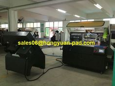 Automatic one color cylindrical screen printing machine  It is suitable for printing some round and oval containers,such as cosmetic,leechdom and food service industry.