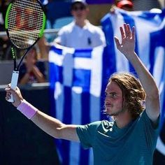 "Living Postcards στο Instagram: ""💙🇬🇷 Bravo Stefanos! Stefanos Tsitsipas reaches French Open Semi Final with win over Russian Rublev. #stefanostsitsipas #tennisaddict…"" French Open, Semi Final, Greeks, Tennis Racket, Finals, Postcards, Meet, Instagram, Final Exams"