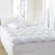 The only product you need to change the way you sleep forever. Extreme Comfort  Experience the feeling of sinking into clouds as you drift off to dreamland. You will look forward to bedtime every night with the Cheer Collection cloud-like mattress topper and your sleep will never be the same.... more details available at https://furniture.bestselleroutlets.com/bedroom-furniture/mattresses-box-springs/mattress-toppers/product-review-for-premium-quality-luxury-hypoallergenic-wh
