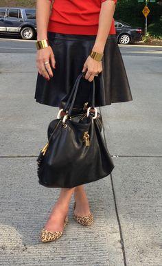 Leather Skirt | Banana Republic