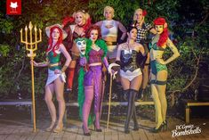 DC Bombshells Cosplay Group - Steamkittens by BabyGirlFallenAngel