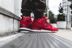 Reebok GL 6000 Mid – Flash Red / White