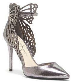 3f48530086 Jessica Simpson - Leasia Metallic d Orsay Pumps. Jessica Simpson HeelsShoe  ...