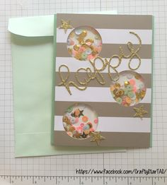 Alternate card for June 2016 My Paper Pumpkin Monthly Subscription Kit from Stampin' Up!