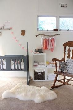 habitacion bebe natural 3 Pequeñas ramitas en la Habitación del Bebé
