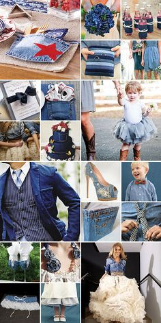 Denim Delicious { Charming + Laid-Back } I feel a party coming on!