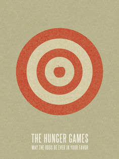 Minimal Movie Posters - The Hunger Games