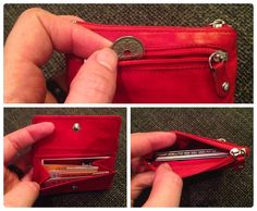 Tiny purse - perfect for the small purse and the ultra minimalist.