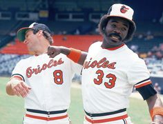 Eddie Murray and Cal Ripken Jr