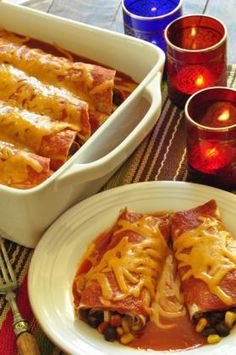 Easy Cheesy Enchiladas | Food Hero - Healthy Recipes that are Fast, Fun and Inexpensive