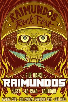 ANTRO DO ROCK: Com tributo aos Ramones, Raimundos Rock Fest será ...