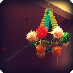 polish paper chandelier (pajaki) by The Craft Revival, via Flickr
