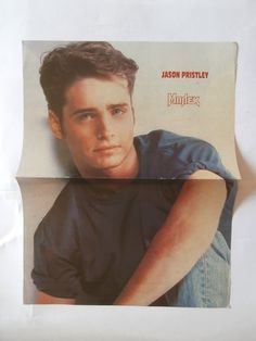 Jason Pristley Disney Mini Poster from Greek Mags clippings 1970s 1990s | eBay