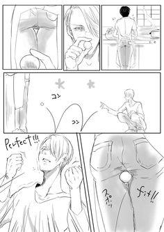 Cómics Yuri on Ice 2 ♡ 19 Days Anime, 5 Anime, Haikyuu Anime, Otaku Anime, Anime Guys, Yuri On Ice Comic, Yuri Katsuki, ユーリ!!! On Ice, Film D'animation