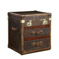 Vintage trunk with drawers