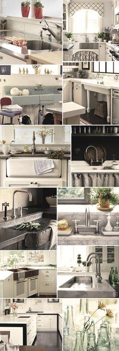 Kitchen sink styles...