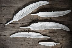 Ceramic feather by Madam Stoltz