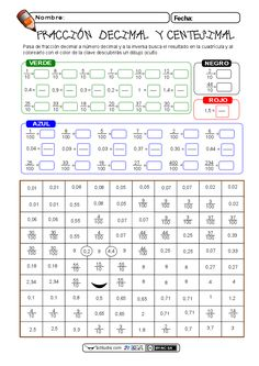 My Glitter Coated Life Math Worksheets, Math Activities, Teaching Math, Teaching Resources, Decimal Number, Math Boards, Math Multiplication, Third Grade Math, Classroom Language